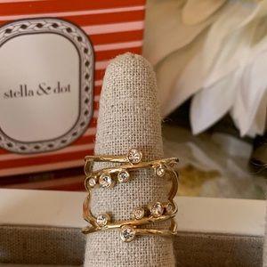 Stella & Dot Celestial Sparkle Ring